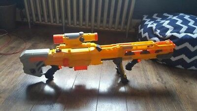 Nerf CS-6 LongShot Sniper Rifle Dart Gun N Strike Elite 2