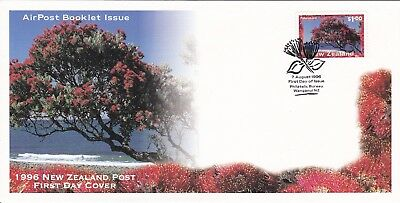 1996 - New Zealand -   AirPost Booklet Issue - First day cover