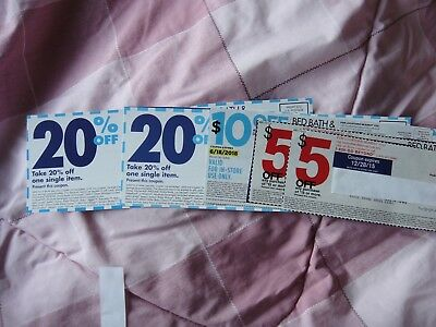 5 Bed Bath & Beyond Coupon 2x $5 Off $15, 1x $10 off $30, 2x 20% off single item