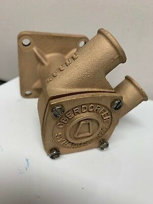 Oberdorfer Raw Water Pump Body N 202M-11  - Good Condition with end plate 8869