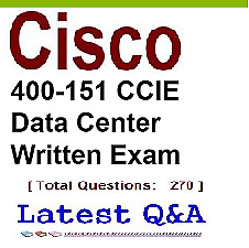 2018 - 2019 Cisco Exam 400-151 CCIE Datacenter  – written exam!!!