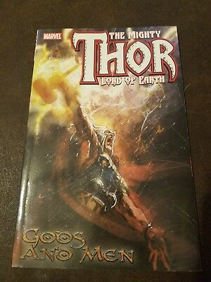 The Mighty Thor Lord of Earth : Gods and Men Marvel comics TPB
