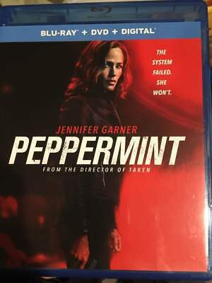 Peppermint Blu-Ray No DVD/Digital/Slip Like New FAST FREE Combine SHIPPING