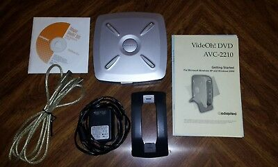 Adaptec AVC-2210 VideOh! DVD Video Converter Kit with AC Adapter