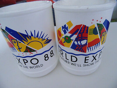World Expo 88 QLD Australia Stuubby Drink Holders | Great Condition For The Age