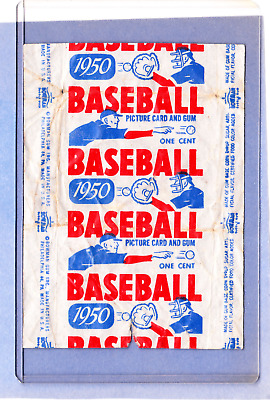 Vintage- 1950 Bowman Baseball Card WRAPPER