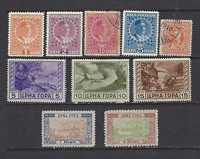 [464] 10 stamps from Montenegro