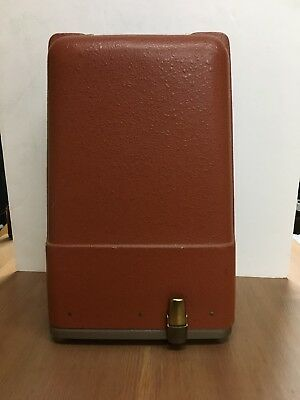 Vintage REVERE Model 85 8mm MOVIE PROJECTOR Portable Case TESTED