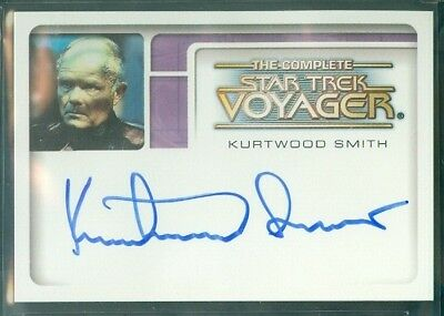 Star Trek Voyager Complete ( A 4 ) Kurtwood Smith as Annorax  Autograph Card