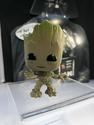 Funko Toys POP Marvel Movies GOTG 2 BABY Toddler GROOT Vinyl 4in. Figure  #202