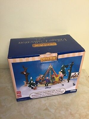 Lemax Christmas Village Collection Holiday Merry-Go-Round #14340