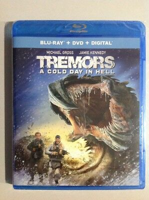 TREMORS A COLD DAY IN HELL Movie ( Blu-Ray / DVD ) New. Read Details.