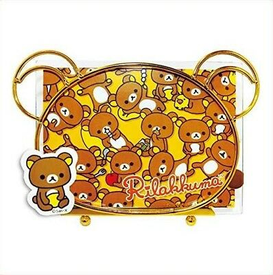 NEW~ San-X Authentic Japan Rilakkuma Face Head Wired Photo Picture Frame