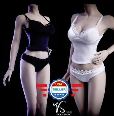 "1/6 Camisole Panties Underwear Set For 12"" Female Figure Doll PHICEN JIAOU DOLL"