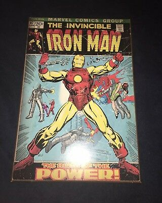 """The Invincible Iron Man #47 """"The Birth of the Power!"""" Great Condition Origin!!"""
