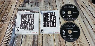 Metal Gear Solid: The Legacy Collection  (SONY PlayStation 3, 2013) PS3