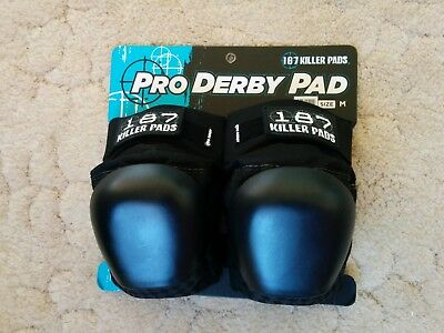 187 Pro Derby Knee Pads size M - NEW