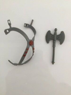 Vintage Masters of the Universe MOTU - He-Man Axe And Chest Harness