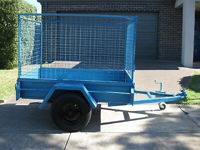 6x4 Steel Cage Trailer