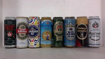 500ml Tall Drawn Steel Beer Cans from Germany