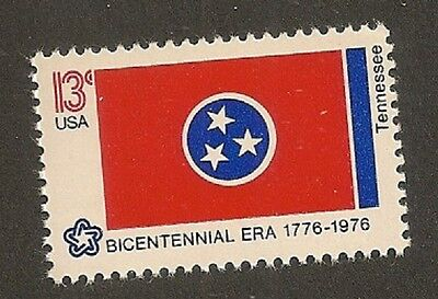 US 1648 State Flags Tennessee 13c single MNH 1976