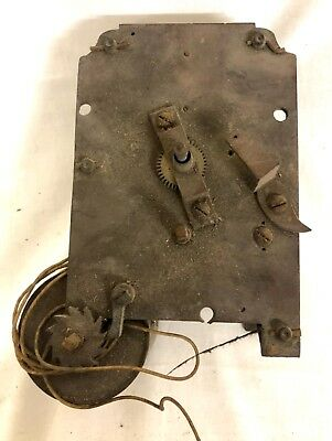 Single Fusee Clock Movement for Wall Clock for Restoration : Fusee H02