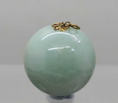 Important Antique Chinese Qing Daoguang (1782-1850) Hetian Jade Court Finial 朝珠