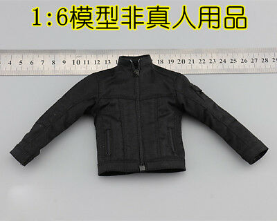 "EASY&SIMPLE ES 26029 1/6 US Army PMC Persona Black jacket F12"" Male Action"
