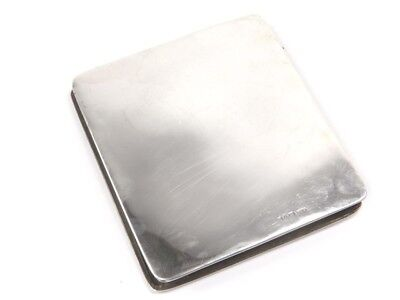 Antique early 20th century .925 sterling silver folding card case