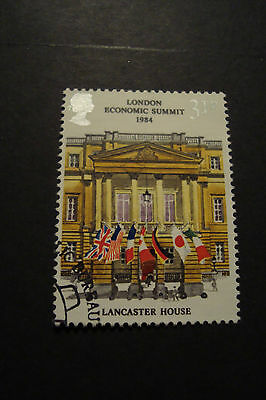 GB 1984 Commemorative Stamps~Summit~Very Fine Used Set~(ex fdc)UK Seller