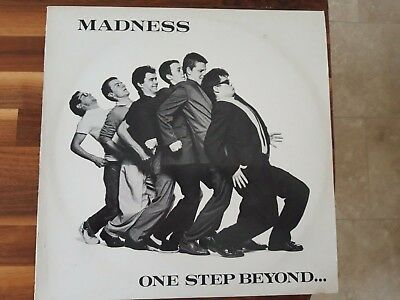 Madness One Step Beyond.. 1st Press Misprint Vinyl LP 1979 Ska Two-Tone