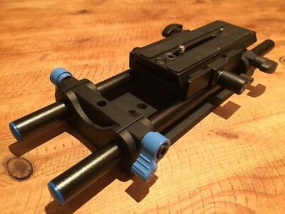 Redrock 15mm Camera Support System With 300mm Bars and Sliding Base Plate