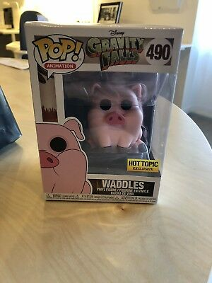 Funko Pop Animation #490 Waddles Disney Gravity Falls Hot Topic In Hand NEW