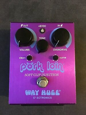 Way Huge Electronics WHE201 Pork Loin Soft Clip Injection Overdrive Guitar