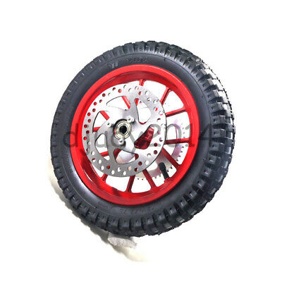 Mini Moto Electric Motorcycle Scooter Wheel Tyre 12 1/2X2.75 Brake Disc Sprocket