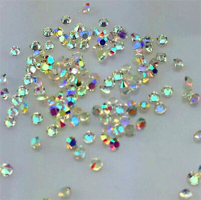 2000Pcs AB Crystal Birthstones Floating Charm for Glass Living Memory Locket !