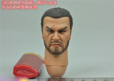 """COOMODEL SE038 1:6th KNIGHTS OF THE REALM Head Sculpt B For 12"""" Male Action"""