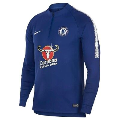 Chelsea Squad Drill Training Top 2018 2019 Blue Size Small BNWT 18/19 S