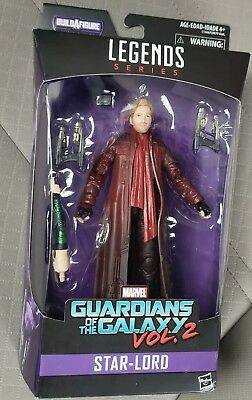 """Marvel Legends Series Star-Lord Guardians Of The Galaxy Series 2 Figure 6"""""""