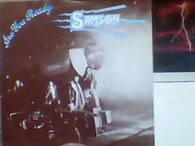 "SAMSON - Are you Ready    7"" Single          NWOBHM"