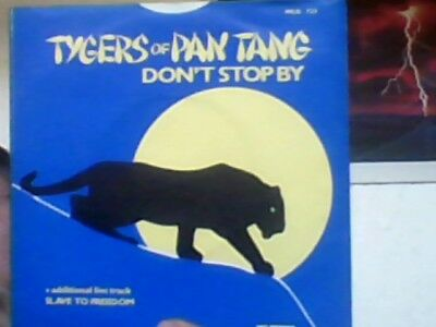 "TYGERS OF PAN TANG - Don't stop by     7"" Single          NWOBHM"