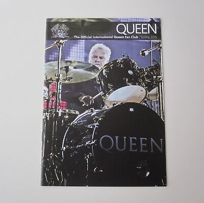 QUEEN : Official Queen Fan Club Magazine Spring Issue 2015