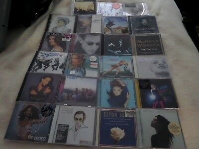 Job Lot of 23 CD Albums and Singles