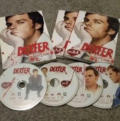 Dexter: The First Season (2007) 4-DVDs (Region 1) NTSC