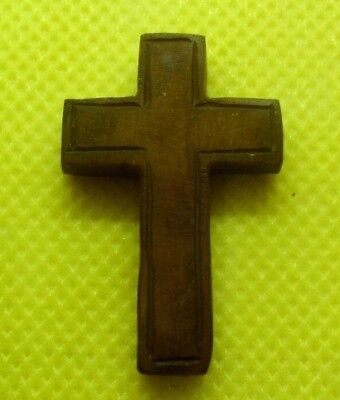 Medieval Byzantine Christian Bone Cross Pendant - Wearable Historic Artifact!