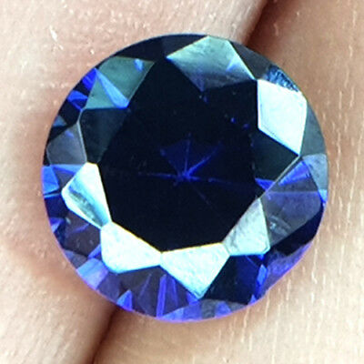 3.33 Cts Gorgeous Peerless D'block Violet Blue Natural Tanzanite