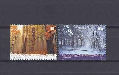 Macedonia, Europa Cept 2011, Forests Theme, Mnh