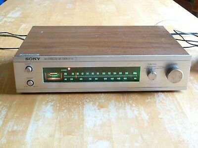 Sony ST-73 FM Stereo FM-AM Tuner Good condition and good working order.