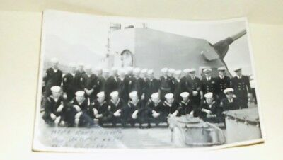 1947 USS Hamner DD 718 Crew Picture - Hong Kong
