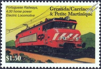 Portugal Railways (CP) Class 2600 (Nez-Cassée) Electric Train Locomotive Stamp